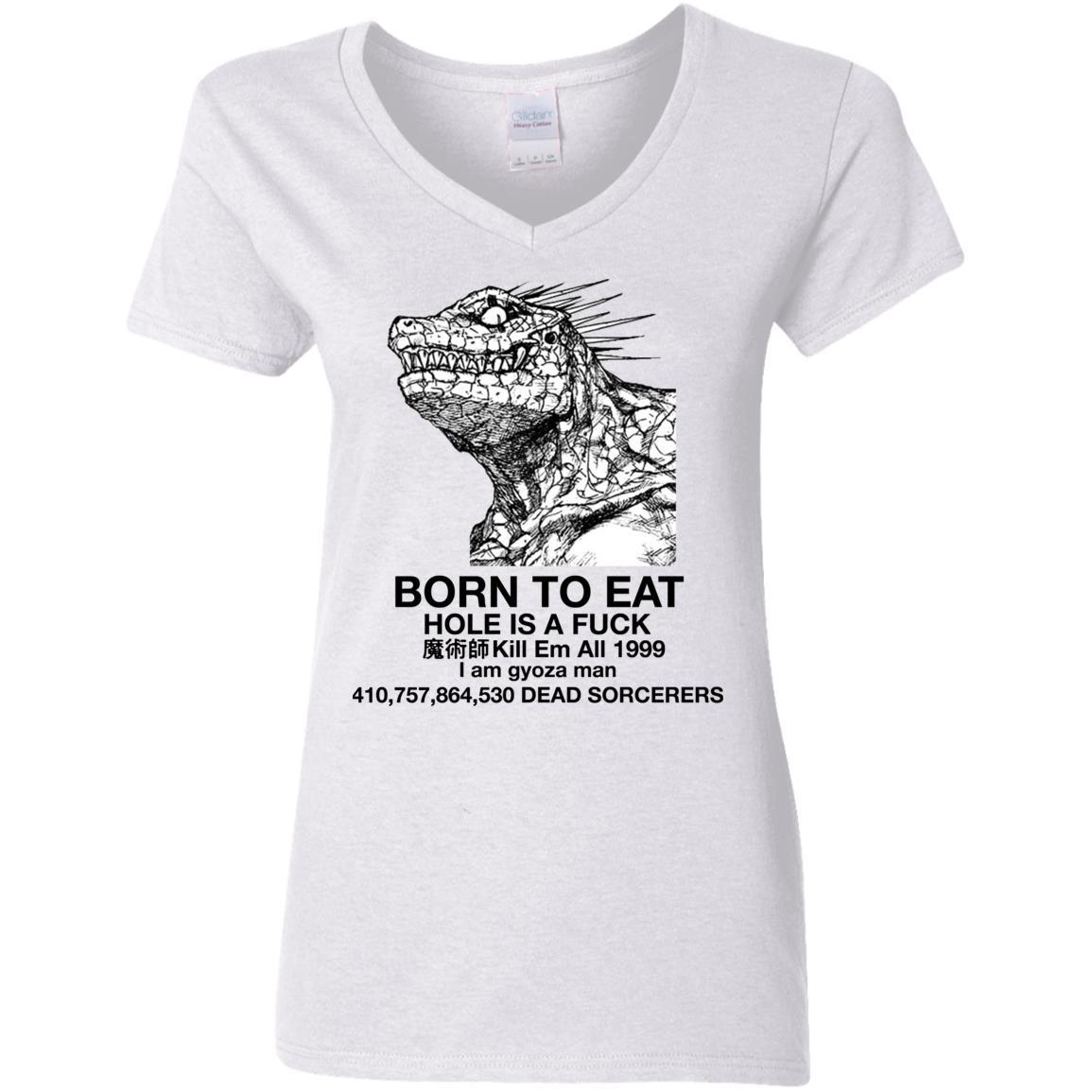 G500VL Ladies' 5.3 oz. V-Neck T-Shirt